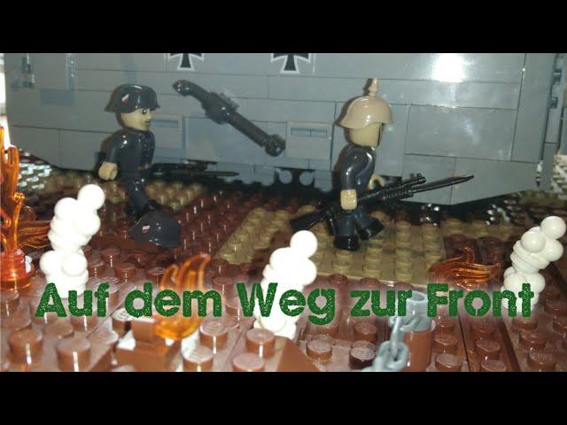 Cobi/Lego WW1 Moc - Auf dem Weg zur Front [German]