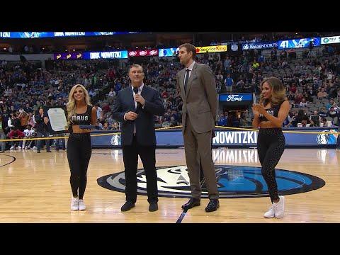 Mavericks Legend Dirk Nowitzki Receives Key To The City