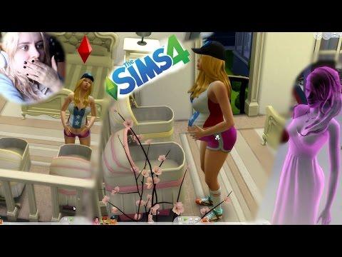 #27 The Sims 4 - Amanda RODZI!!!  Annabelle wraca!