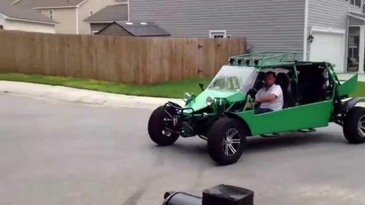 Street Legal Dune Buggy Test Drives Around The Neighborhood Youtube