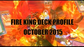 FIRE KING DECK PROFILE (OCTOBER 2015)