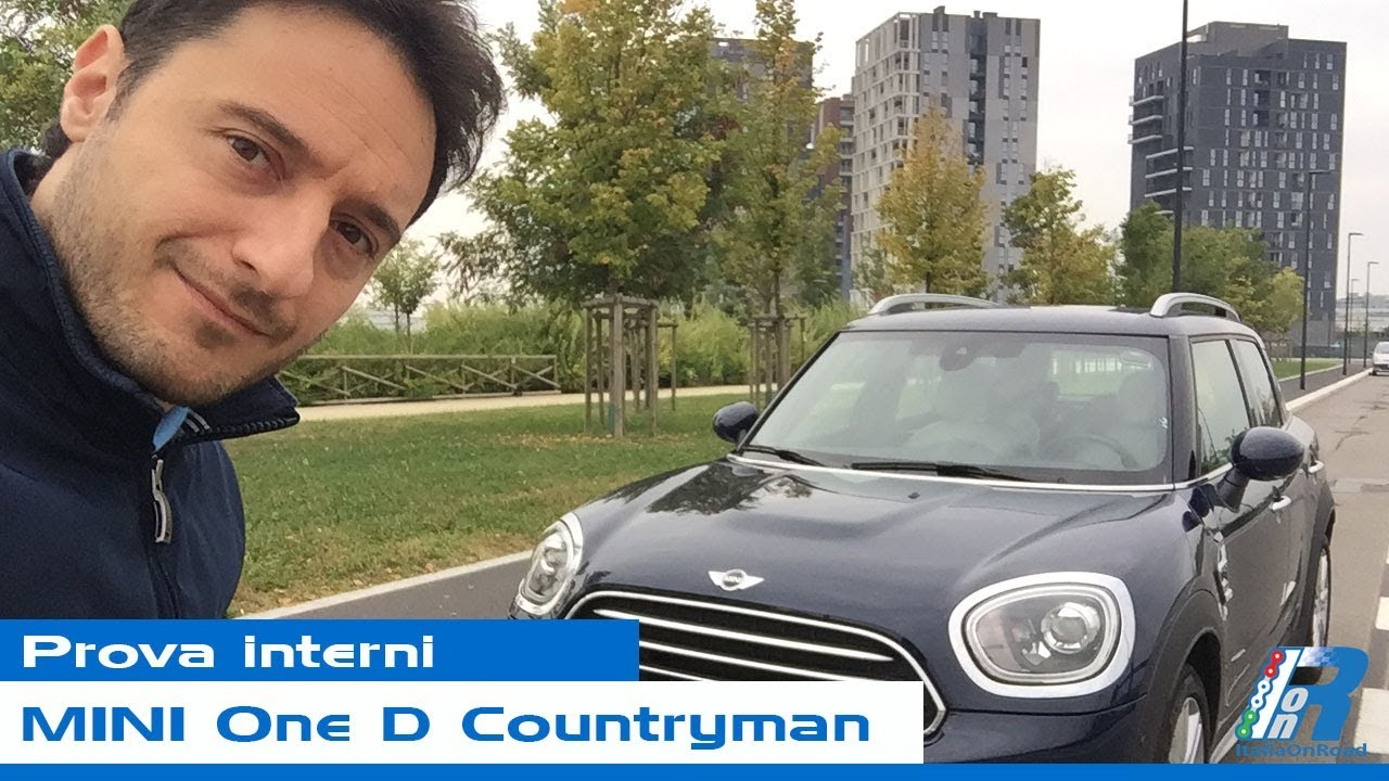 Prova Interni Mini One D Countryman Youtube