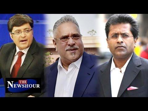 Is Vijay Mallya the Next Lalit Modi? : The Newshour Debate (11th May 2016)