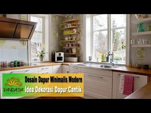 desain dapur minimalis modern - idea dekorasi dapur cantik