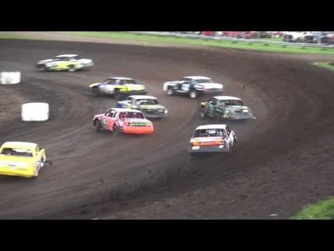 IMCA Hobby Stock feature Benton County Speedway 8/6/17