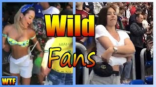 Wild Crazy Beautiful Women Fans Of Fifa World Cup 2018 (VIDEO)
