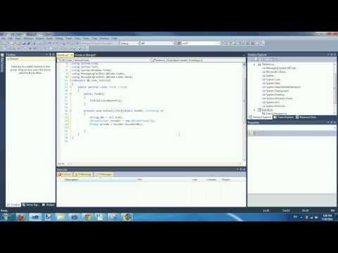 Visual C# 2010 Tutorial: QR Code Encoder and Decoder