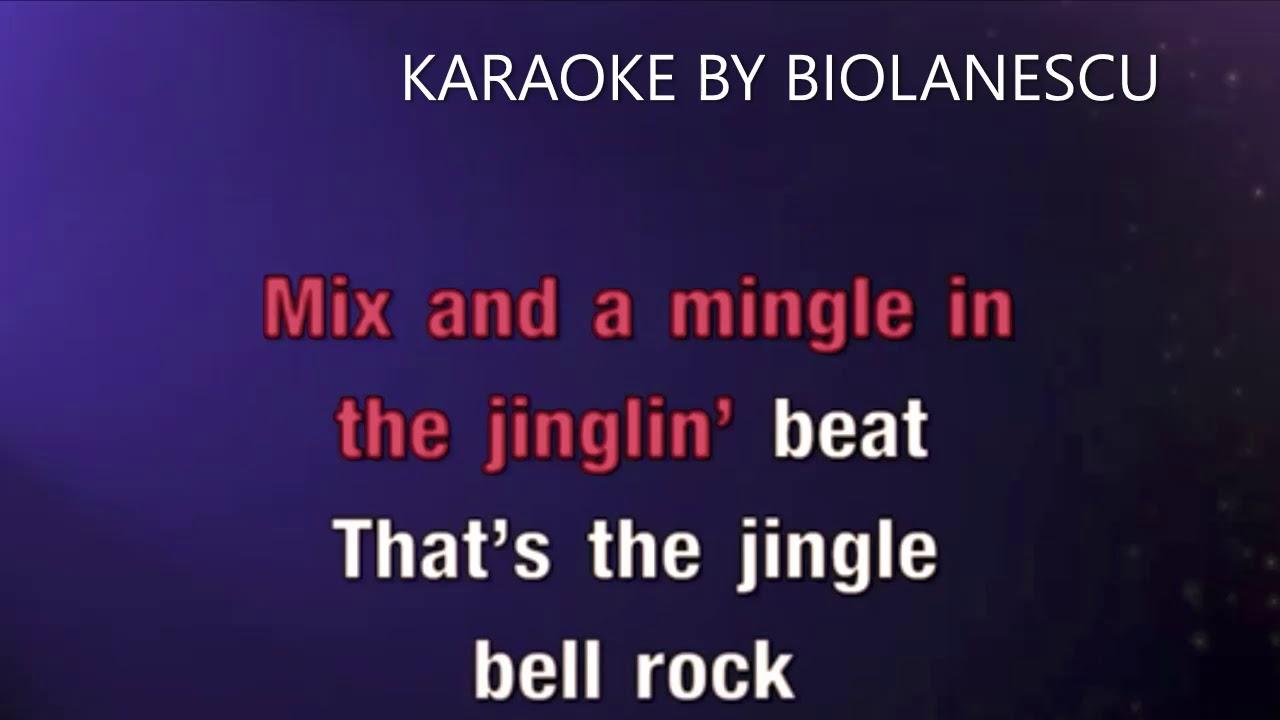 Jingle Bell Rock - Christmas Song KARAOKE - YouTube