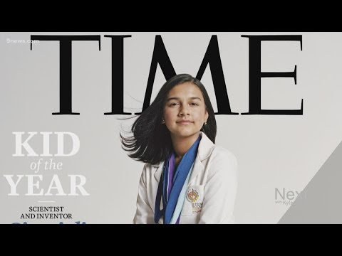 Colorado teen scientist named Time's first-ever 'Kid of the Year' in 2020