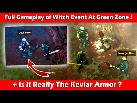 Full Gameplay of Witch Event At Green Zone + Kevlar Armor? Last Day On Earth Survival