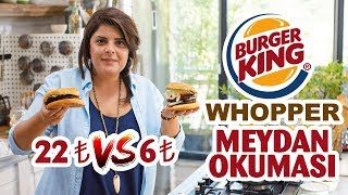 Burger King - Whopper Challenge | More Affordable Whopper Recipe at Home