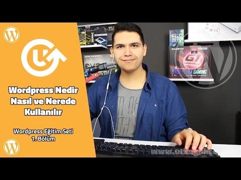 WordPress Nedir – WordPress Eğitim Seti 1.Bölüm – WordPress Tutorial
