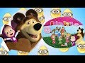 Masha and The Bear Mystery Blind Bags 12 Figures to Collect - Eggs and Toys TV