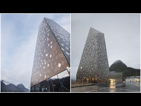 Norwegian Mountaineering Center | Reiulf Ramstad Arkitekter | Åndalsnes, Norway | HD