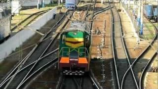 Trains of Ukraine #04 маневровый тепловоз ЧМЭ3э 6685 HD