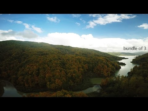 Nature - Aerial Views in Autumn | Stock Footage
