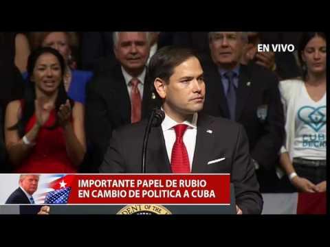 Discurso completo del Senador Republicano, Marco Rubio