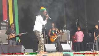 Jesse Royal & The Indiggnation live @ Reggae Geel 2014 #Hotter the Battle.