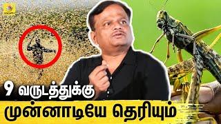 KV Anand | Kaappan Locust Attack Prediction