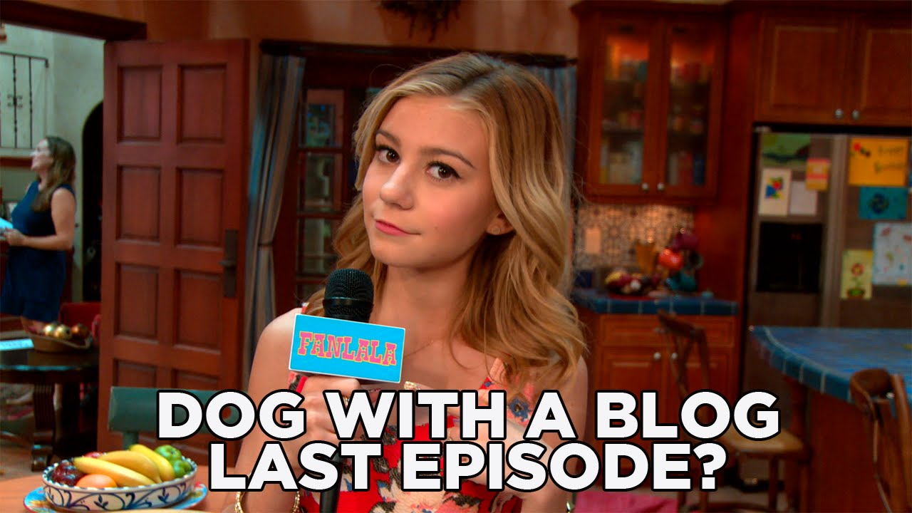 Disney channel dog with a blog last episode