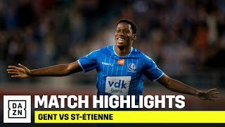 HIGHLIGHTS | Gent vs St-Étienne