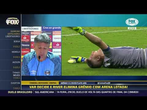 Veja o que Renato Gaúcho falou após eliminação do Grêmio na Libertadores