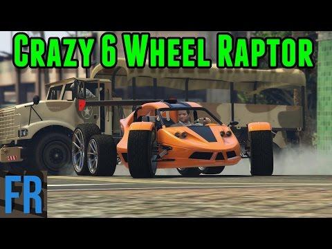 FailRace Gta 5 Challenge - 6 Wheeled Raptor Vs Army