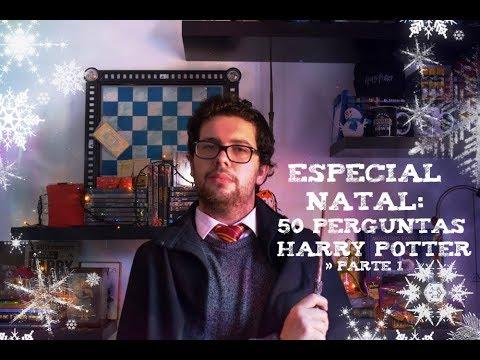 50 Perguntas Harry Potter -  1 ESPECIAL NATAL
