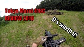 Tokyo Marui HK416C Next Gen AEG Review 2018