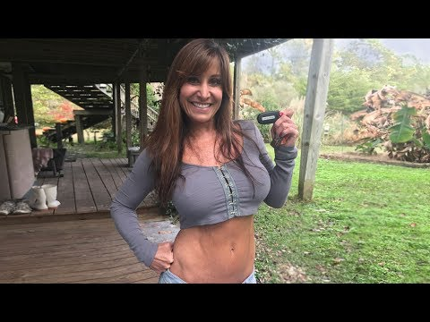 Changing the Dodge key FOB battery with 51 year old Farm Girl. Challenger RT Plus