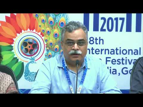 #IFFI2017  Press conference by Team of Saksham organisation on Making Accessible Films