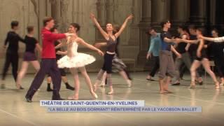 """Théâtre de SQY : Le Yacobson ballet interprète """"La Belle au bois dormant"""""""