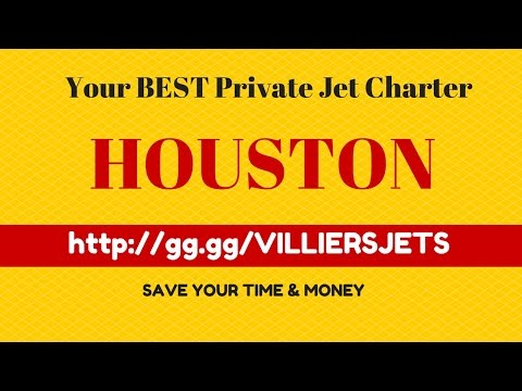 Private Jet Charter Houston Texas