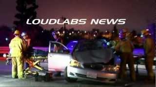 Freeway Crash / Norwalk   RAW FOOTAGE