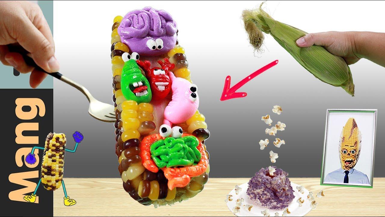 Eating Corn Monster - ASMR Mukbang Animation | Mang Tik ASMR | Food Sound | Kluna Tik Style