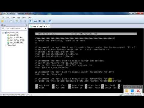 Konfigurasi Router Debian 7