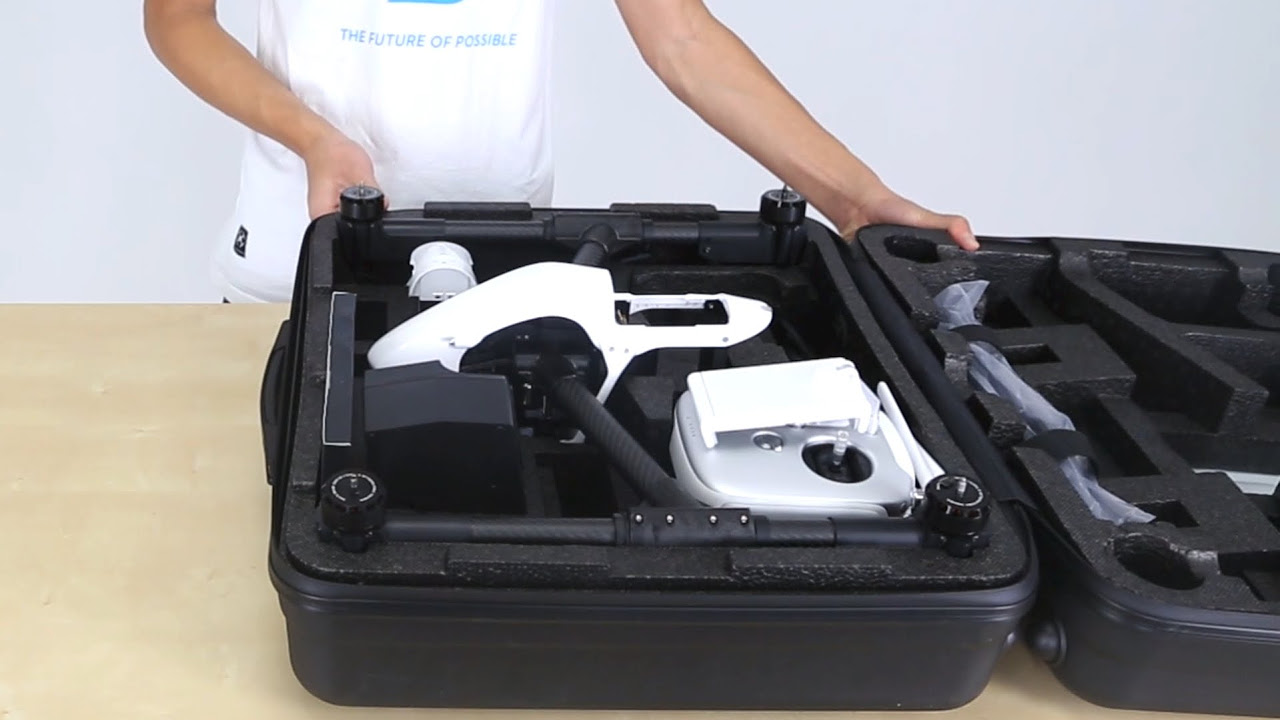 DJI Tutorials - Inspire 1 - Unboxing and Preparing for Safe Flight