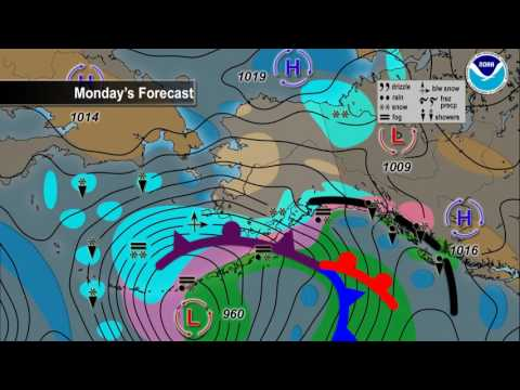 January 22, 2017 Alaska Weather Daily Briefing