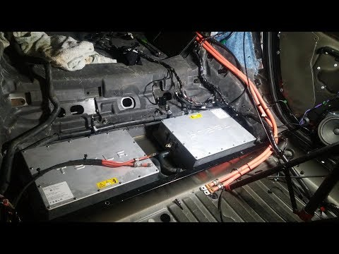 How-to : Install Tesla Model S Rear Onboard Chargers