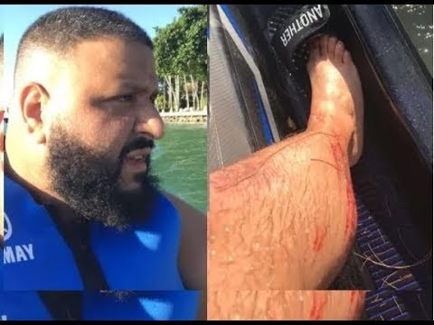 DJ KHALID RESCUED FROM FATAL ACCIDENT AND BROUGHT TO SAFETY