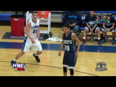 Window Rock vs Snowflake High School Basketball Full Game