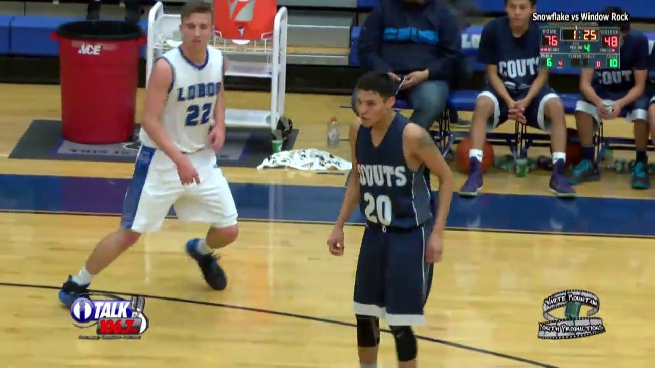 Window Rock vs Snowflake High School Basketball Full Game