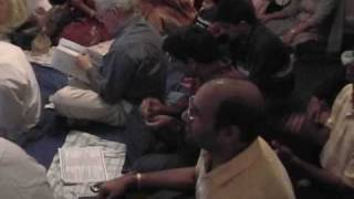 Saibaba birthday bhajans 2008 - Dasaratha Nandana Rama by Sairam Hariharan Boston USA.wmv