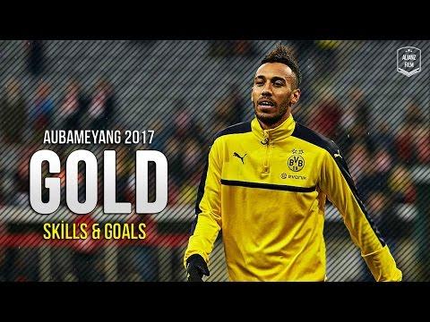 Pierre-Emerick Aubameyang 2017 ● Gold ● Amazing Dribbling Skills x Goals | HD