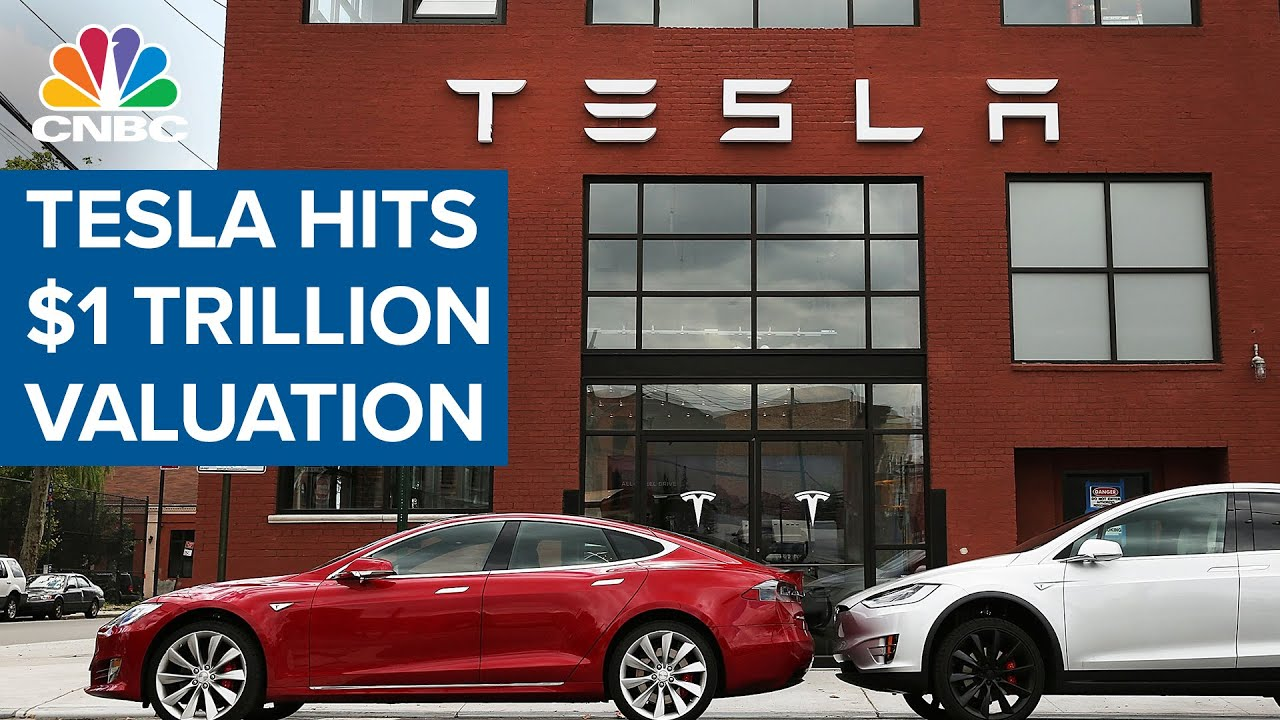 Tesla hits $1 trillion: What to know as company becomes just fifth US ...