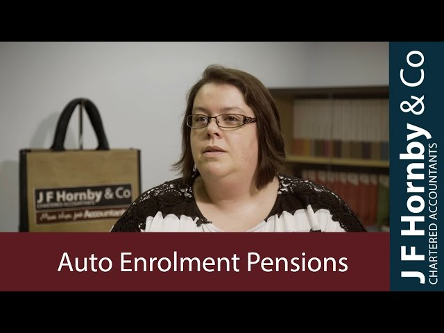 Auto Enrolment Pension Advice from the UK Accountants of the Year
