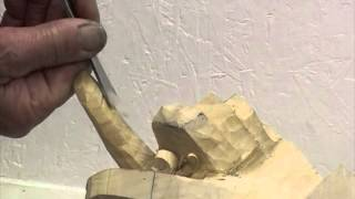 Woodcarving Lessons With Ian Norbury - 10 - The Hand Part 1