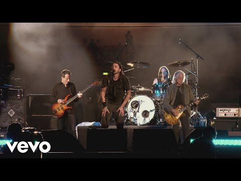 Russ Whip Rose - FOOS cover Zep WITH JIMMY PAGE and JOHN PAUL JONES from 2008 Wembley show