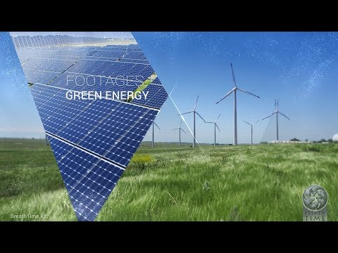 017 - FOOTAGES Kazakhstan | Green Energy | 4K Video