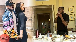 Chioma Toast & Surprise Davido In a Hotel Room For Christmas Vocation